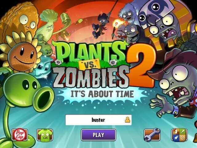 Tựa game Plants vs Zombies 2